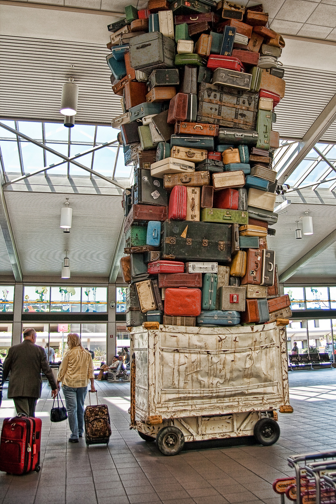 如何避免與找回你遺失的行李?