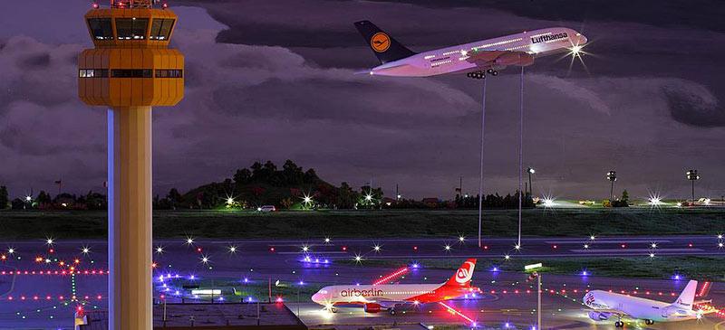 世界上最大最令人驚豔的機場模型