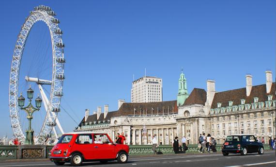 【新玩法】坐 Mini Cooper 玩倫敦