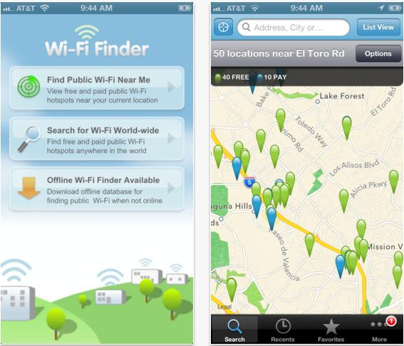 【旅遊好物】Wi-Fi Finder 讓你旅遊在外能隨時上網