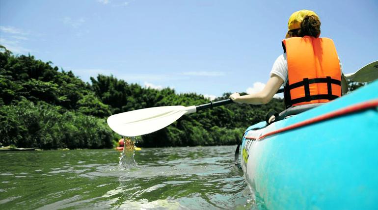 一點也不孤單的獨木舟體驗