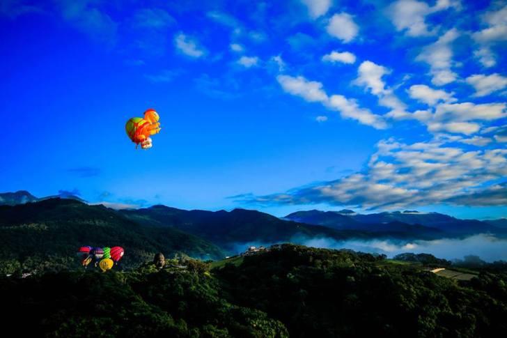 台灣好行瘋台東–縱谷鹿野線 Part2 熱氣球一日遊