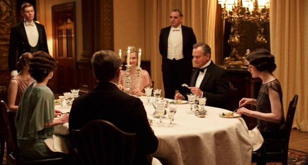 《唐頓莊園》淑女的20條餐桌準則,看看你是不是淑女?