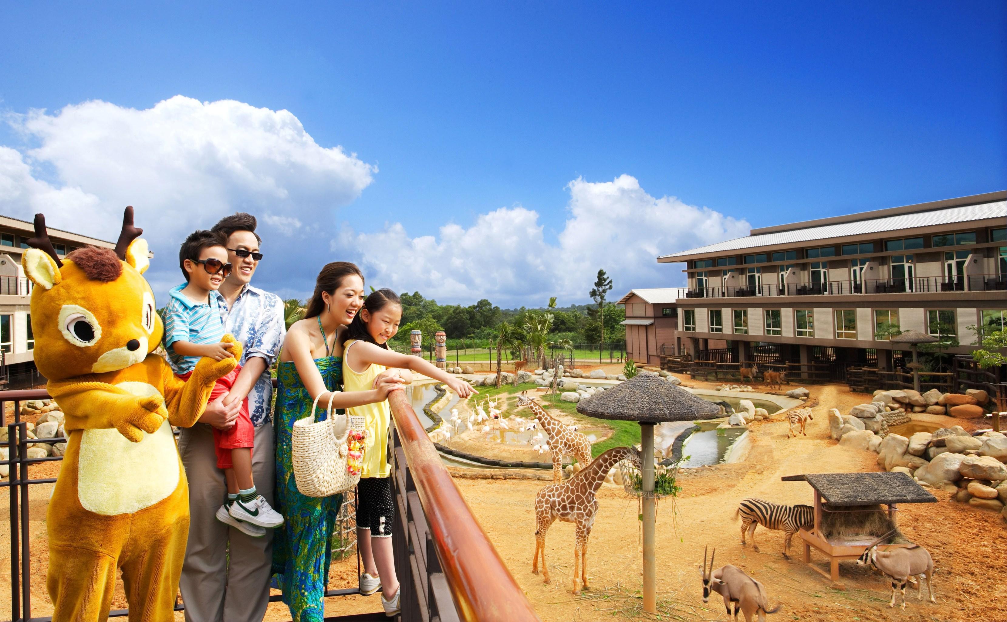 關西六福莊春季踏青新趣味 前進非洲生態新樂園