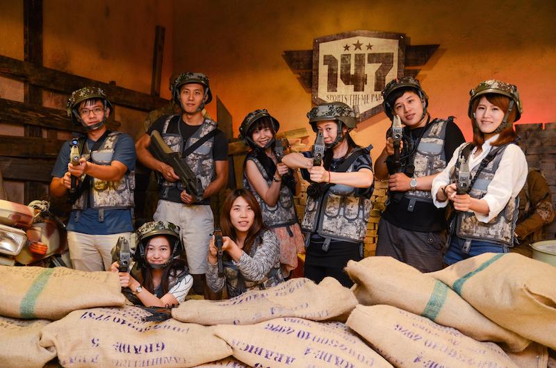【台北玩樂】Niceday 147槍樂園♥.一場不夠玩的鐳戰對抗賽!