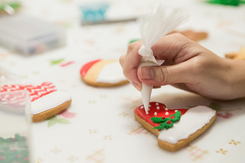 無敵可愛的聖誕節糖霜餅乾,原來一點都不難!
