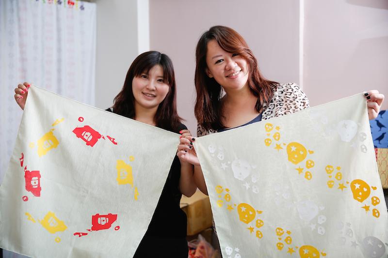 秋意印花趣 – 印製專屬方巾,你也可以成為DIY達人