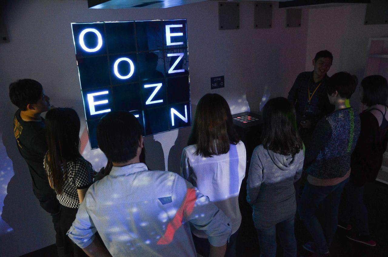 台北玩樂|智慧獵人 異界籠 ZONE♥大型電動式機關!不一樣的密室逃脫