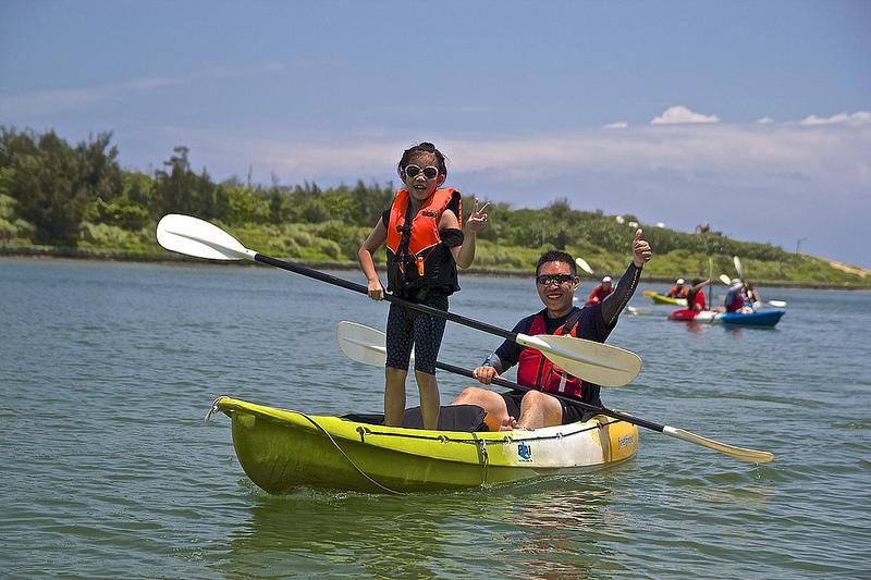 【福隆|獨木舟初體驗】陪孩子冒險,航向另一個未來