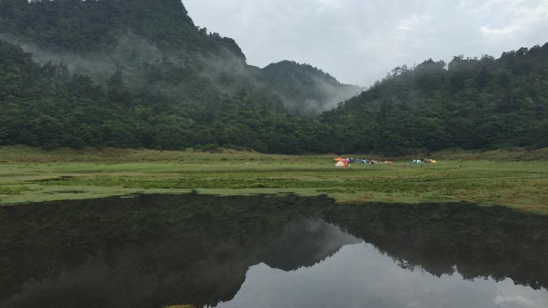 百姿千色松蘿湖及探索南勢溪上游秘境
