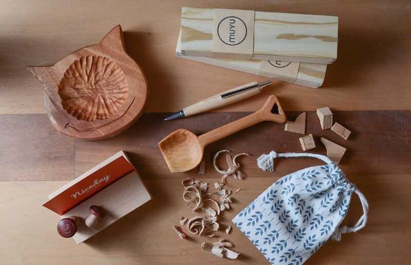 【台北手作。木宇設計】自己做木工:木頭盤子/湯匙/名片架!