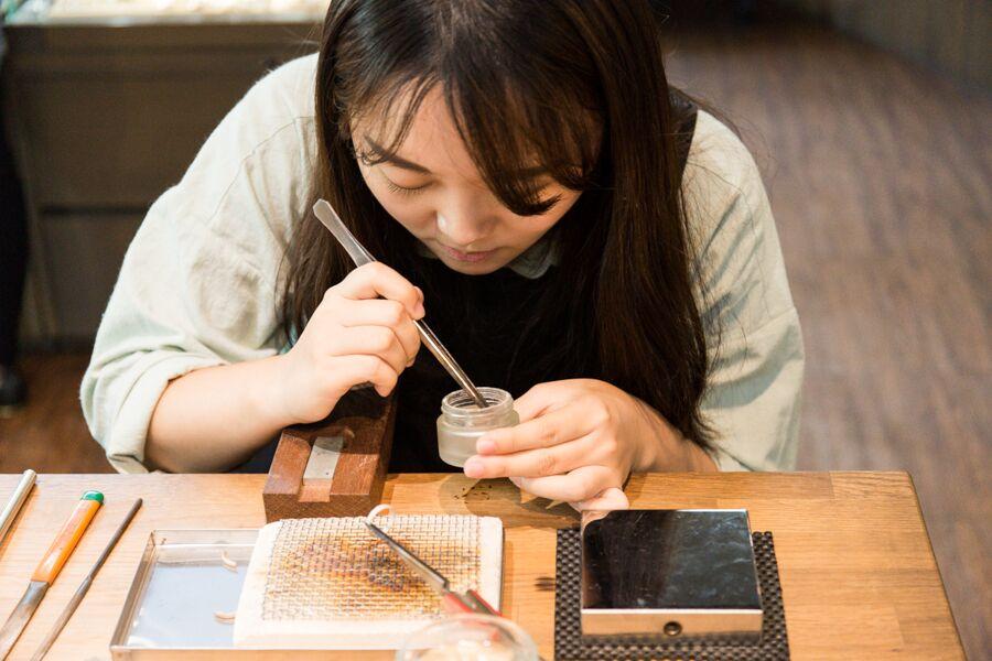 【銀戀|台南手作銀飾課程】愛就是要親手量身訂做,我的第一枚銀戒
