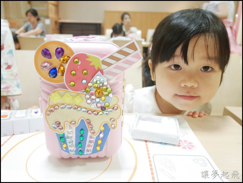 【親子手作設計】超好玩的彩糖貝貝『寶貝去哪兒! 珠寶盒行李箱』課程