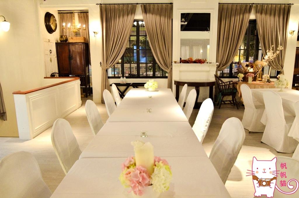 【台北 美食】香頌私宅洋樓 老上海裝潢風格的異國料理