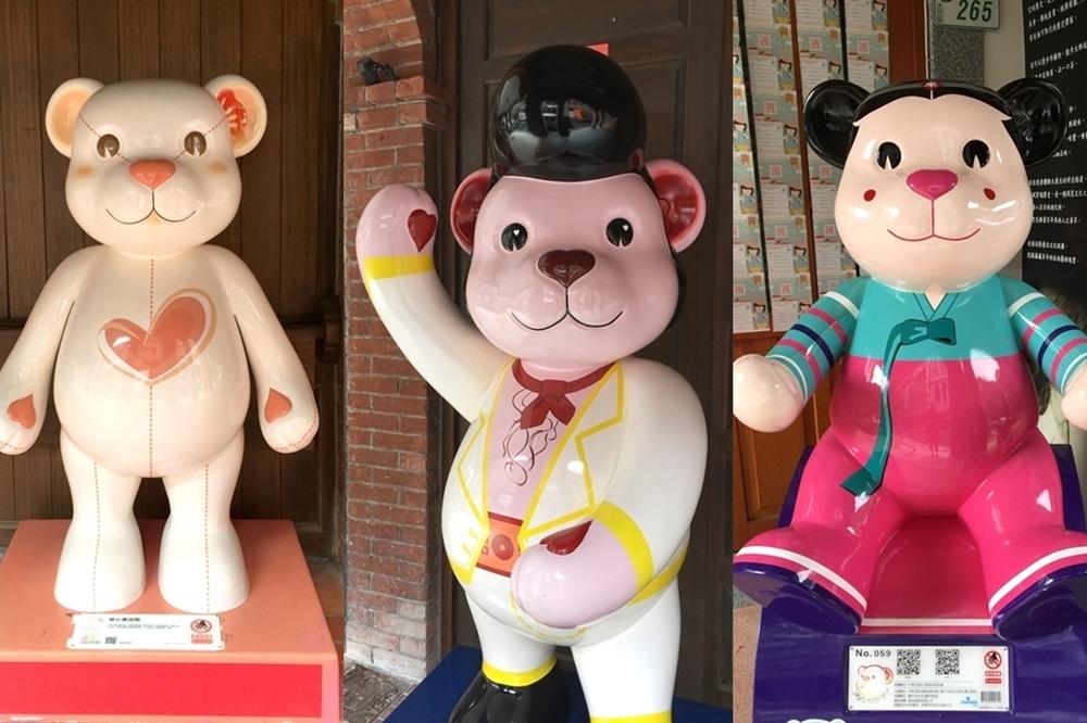 50 隻樂活熊出沒大稻埕 一起到台北舊城「尋熊」一日遊