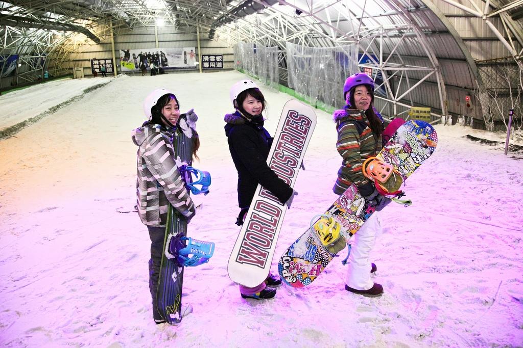 台灣也能玩滑雪!雪板 Snowboard 新手體驗