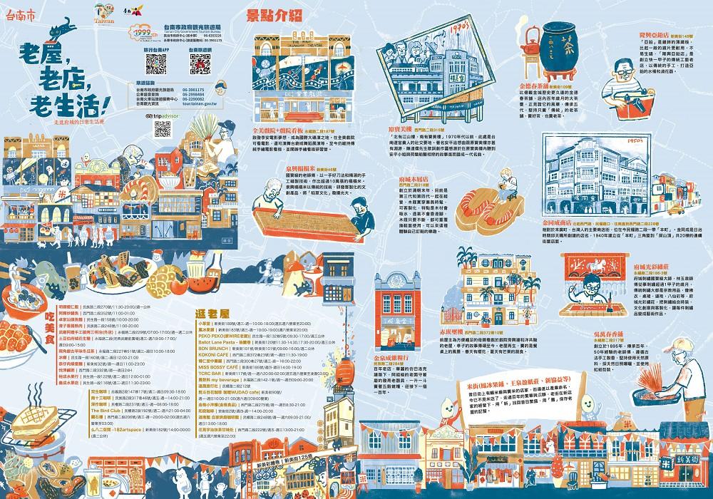 「老屋,老店,老生活!」台南散步路線 每周六免費提供導覽