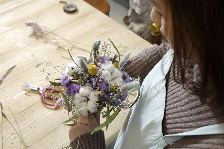 歐逆的花藝教室 – 教你紮出韓式花束