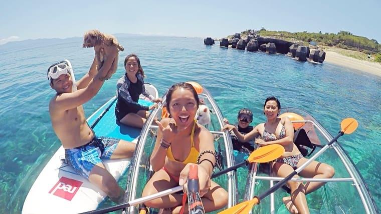 屏東小琉球SUP x 透明獨木舟 x 浮潛!成為海上全能王