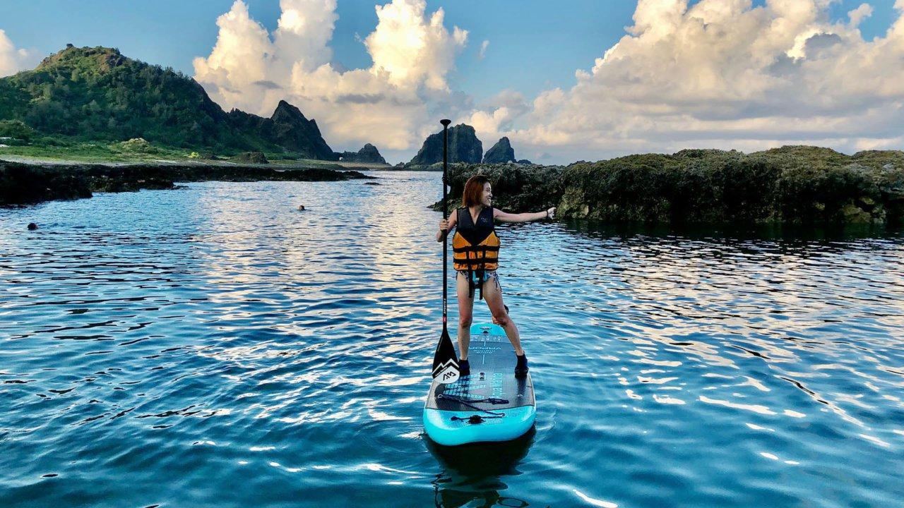 台東蘭嶼】SUP 立槳體驗,探索美麗島嶼的全新選擇