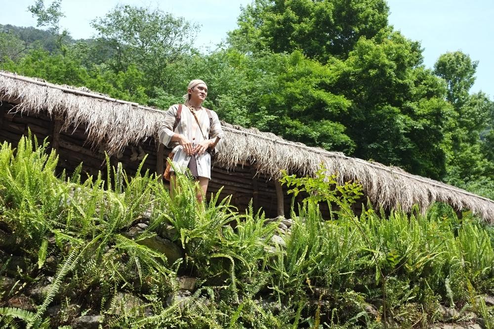 【有片】日月潭還可以這樣玩!眉溪部落體驗賽德克族射箭、家屋、風味餐