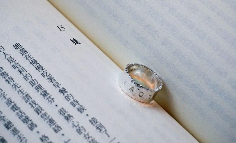 【台北銀戒|手作戒指體驗】光在金工 親手印上最想說的話