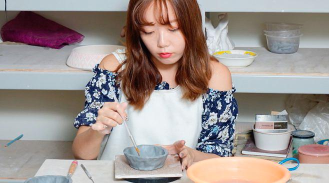 台中 捏陶課程|純陶趣創意工坊,自己親手作動物造型收納罐