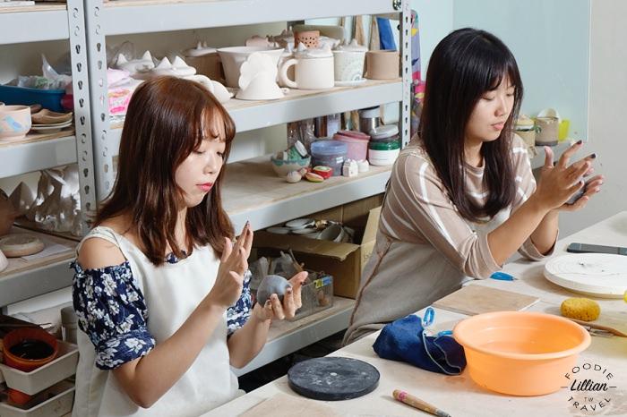 【台中|手捏捏陶課程】純陶趣創意工坊,自己親手作動物造型收納罐