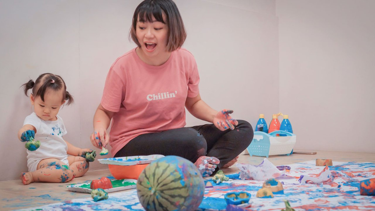 Little Maker 創藝+學堂|嬰幼兒五感 感覺統合體驗1