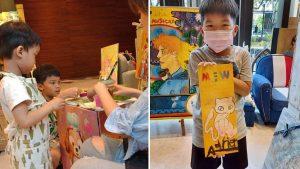 MaisonLiad|歐洲親子木板畫創作|在半山之中繪生活