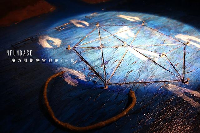 【台北密室逃脫】南京三民『4FUNBASE魔方貝斯』實境遊戲~穿越三國當孔明解謎去
