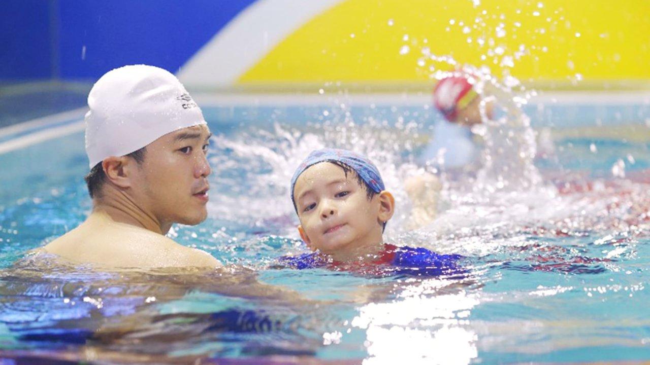 史波奇兒童體適能水適能運動中心:親子游泳 : 兒童游泳