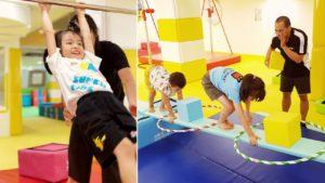 史波奇兒童體適能水適能運動中心:親子體操 : 兒童體操