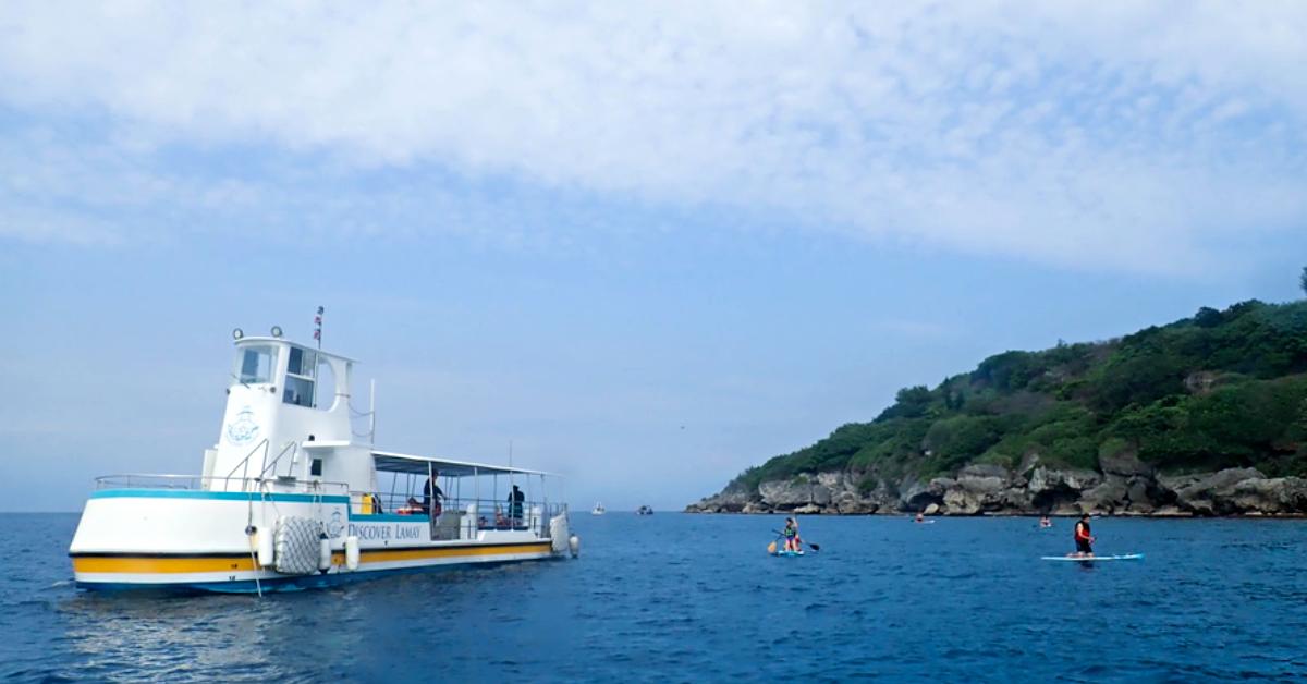 全家都適合!浮潛、獨木舟、SUP 立槳,有吃有喝還有熱水澡的小琉球「海上全能王」
