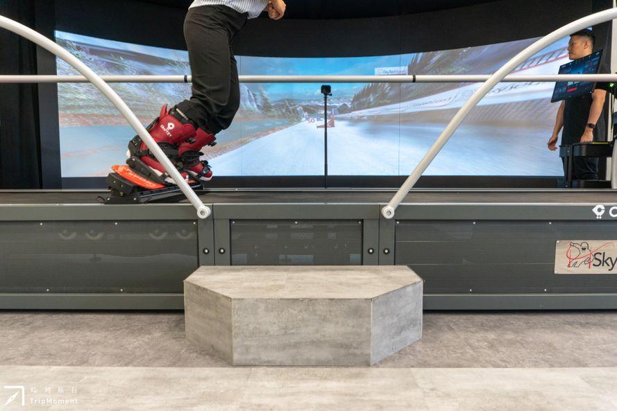 台北市內也能滑雪!複合式室內滑雪空間,Craftzy Sports Club 卡夫契運動工作室