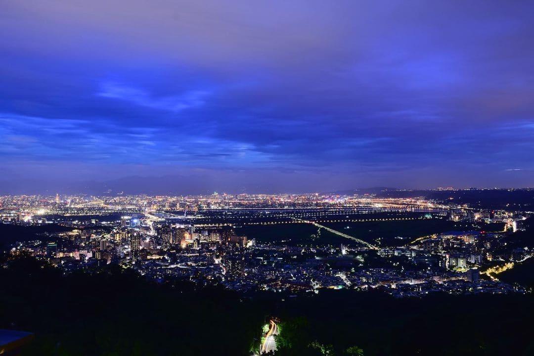 四季長廊觀景台夜景