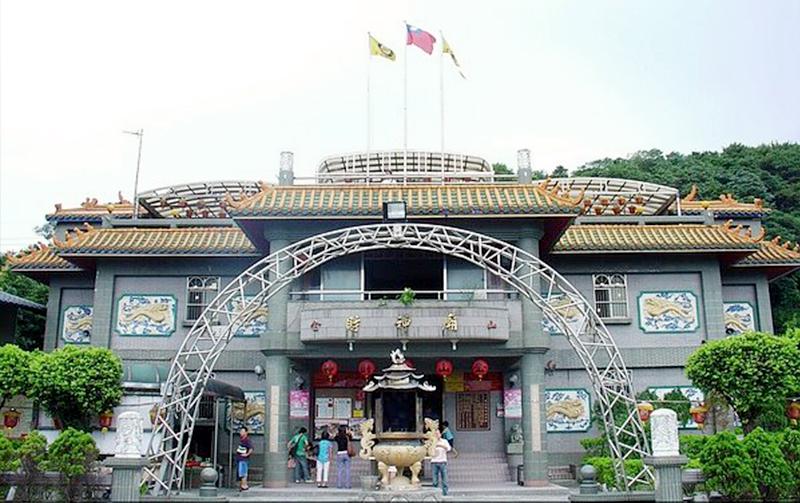 金山 財神廟 正門