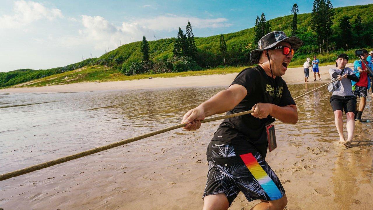 【澎湖】深度生態旅遊,帶你體驗傳統漁法「牽罟」