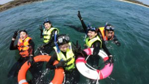 SUP 立槳+浮潛帶你探索青灣之美