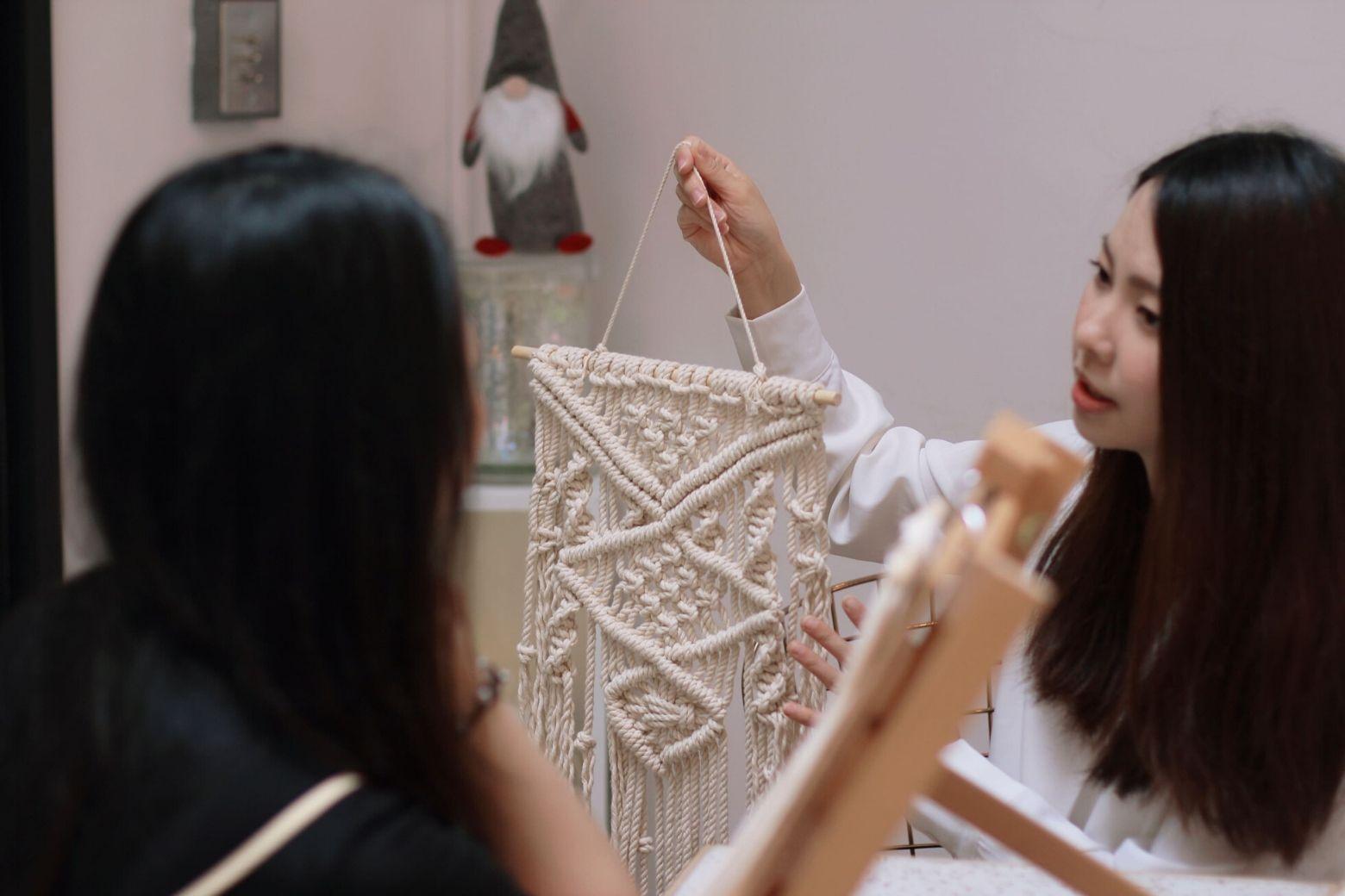 Macrame 編織掛飾開箱|熱愛波希米亞風的你絕不能錯過的體驗