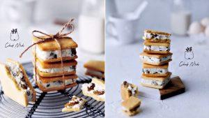 法式可麗露-蘭姆-葡萄餅乾