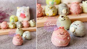 甘杯甜點料理室-角落生物造型螺旋酥