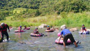 那山那谷漂漂河-平緩區段教練協助