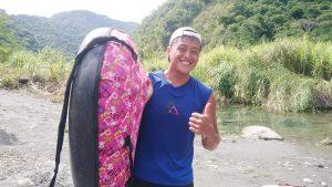 那山那谷漂漂河-河邊燦笑教練