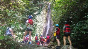那山那谷漂漂河-秘境瀑布2