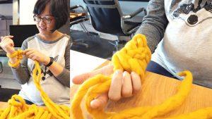 盲藤手作 冬天用手織圍脖,體驗-100-純羊毛的鬆軟觸感