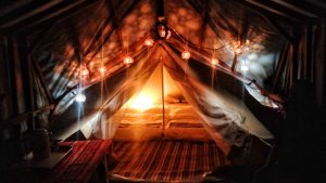 山裡面的嵐卡|入住森林神殿帳,南投秘境露營