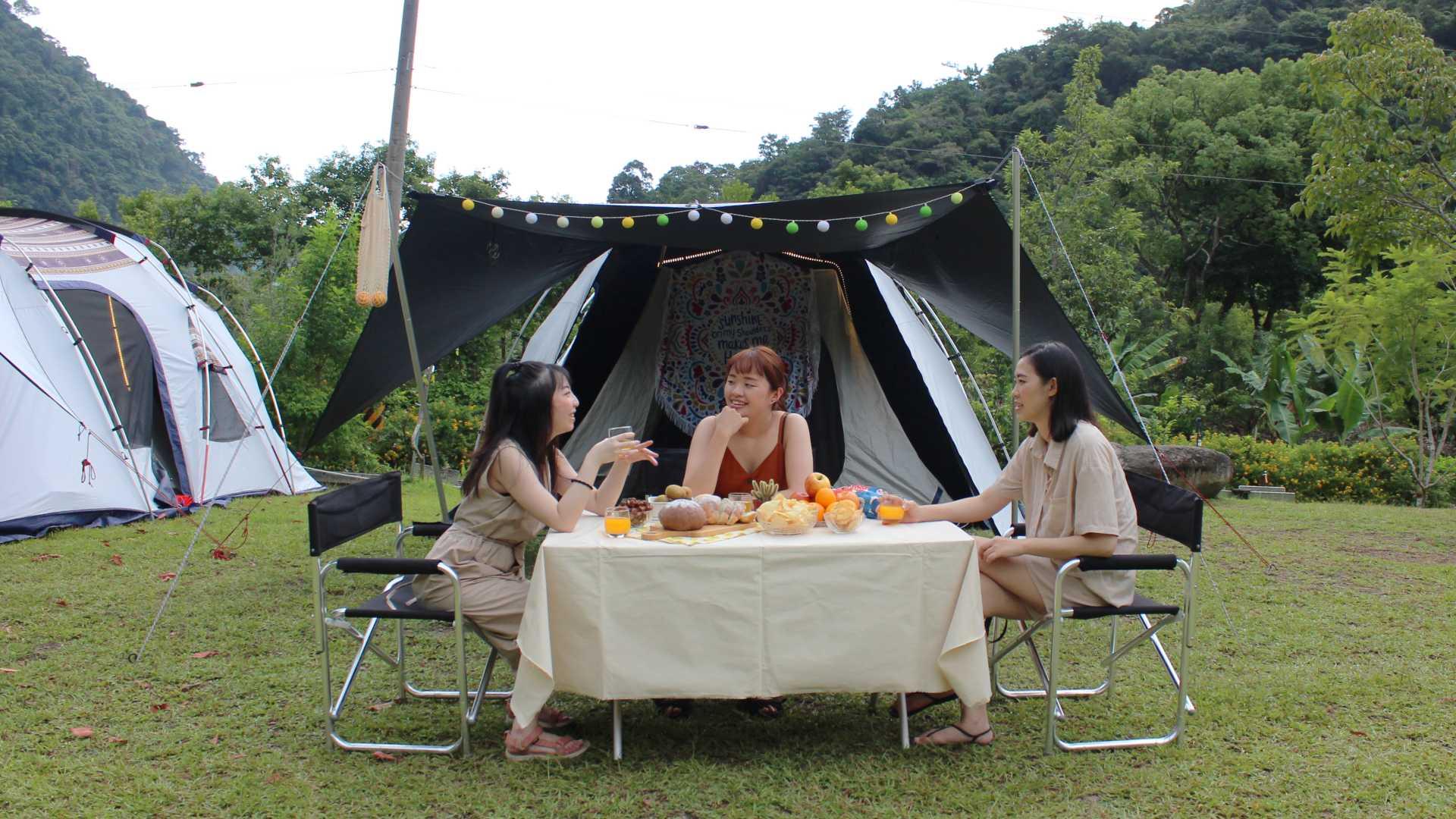 【宜蘭露營|那山那谷】週末不如來一場最 Chill 的懶人露營吧!