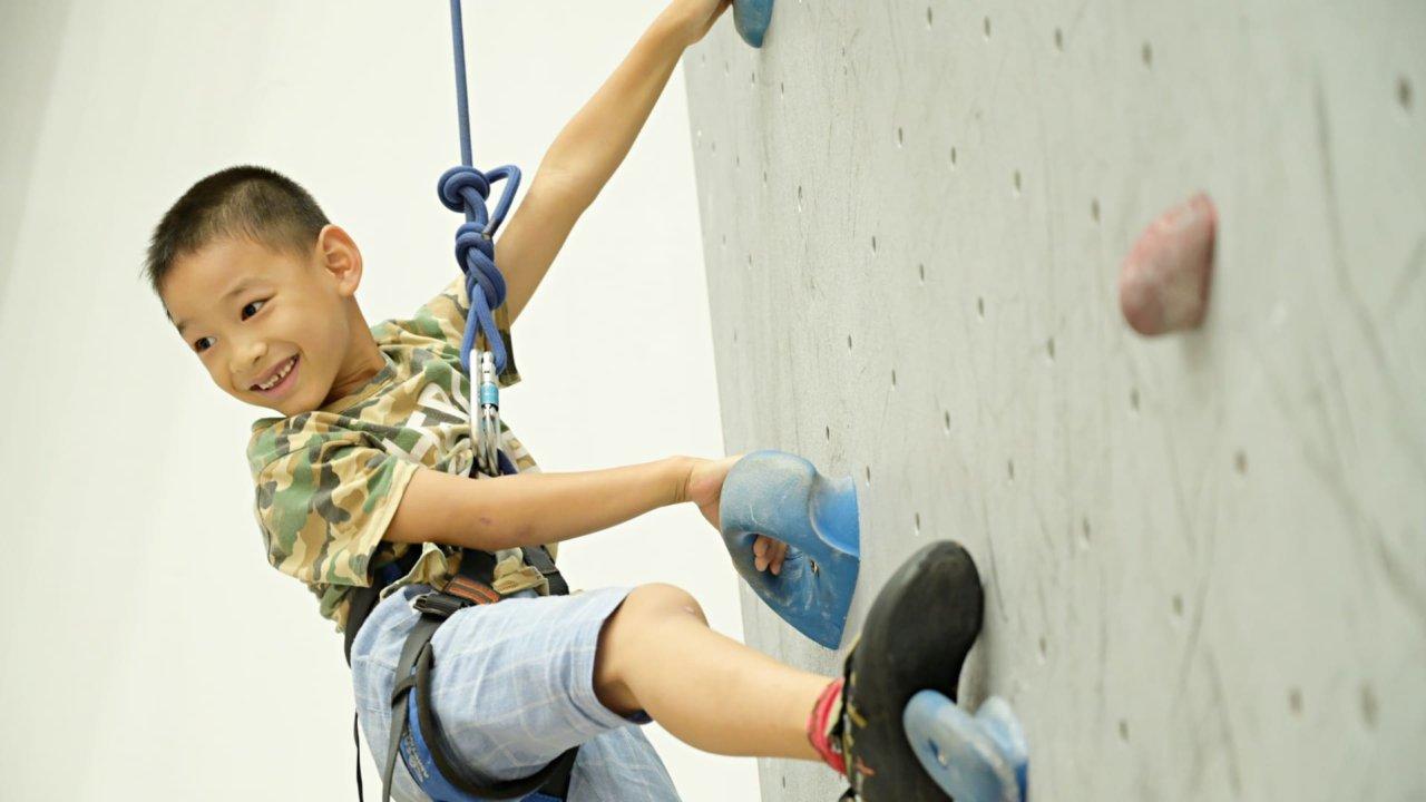 攀岩兒童冬令營:小小蜘蛛人養成班