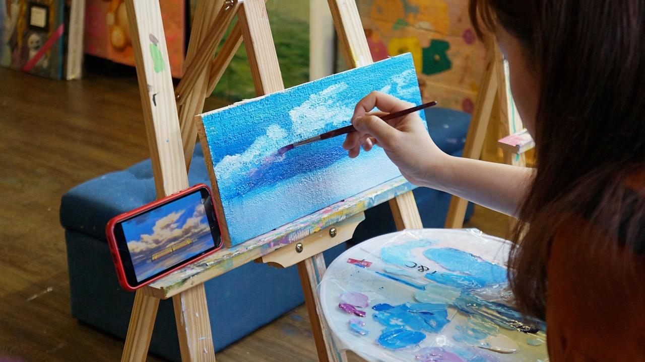 MaisonLiad 半山繪|森林小屋中的歐洲木板繪畫體驗
